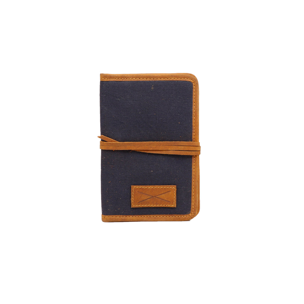 Passport Holder - Blue Brown