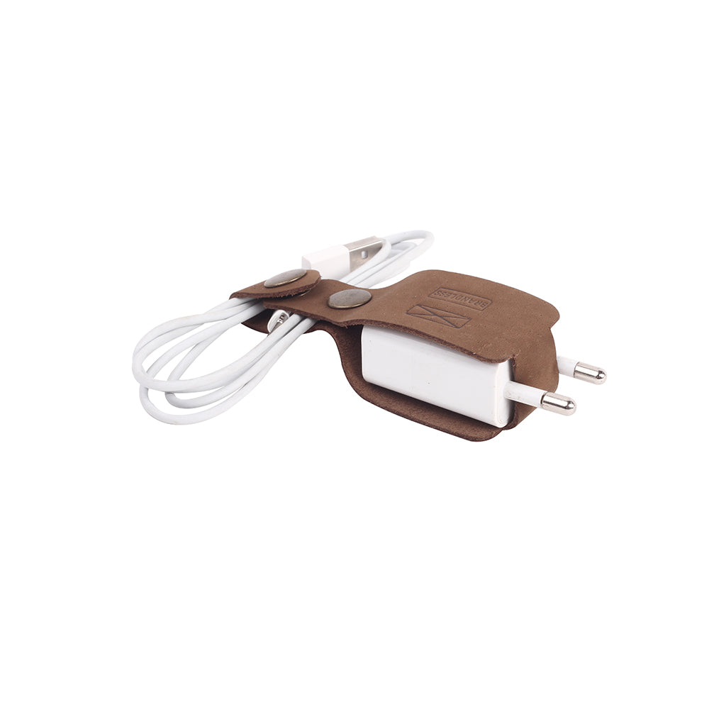 Charger Wrap - Brown
