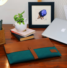 Load image into Gallery viewer, Laptop Folio - Green
