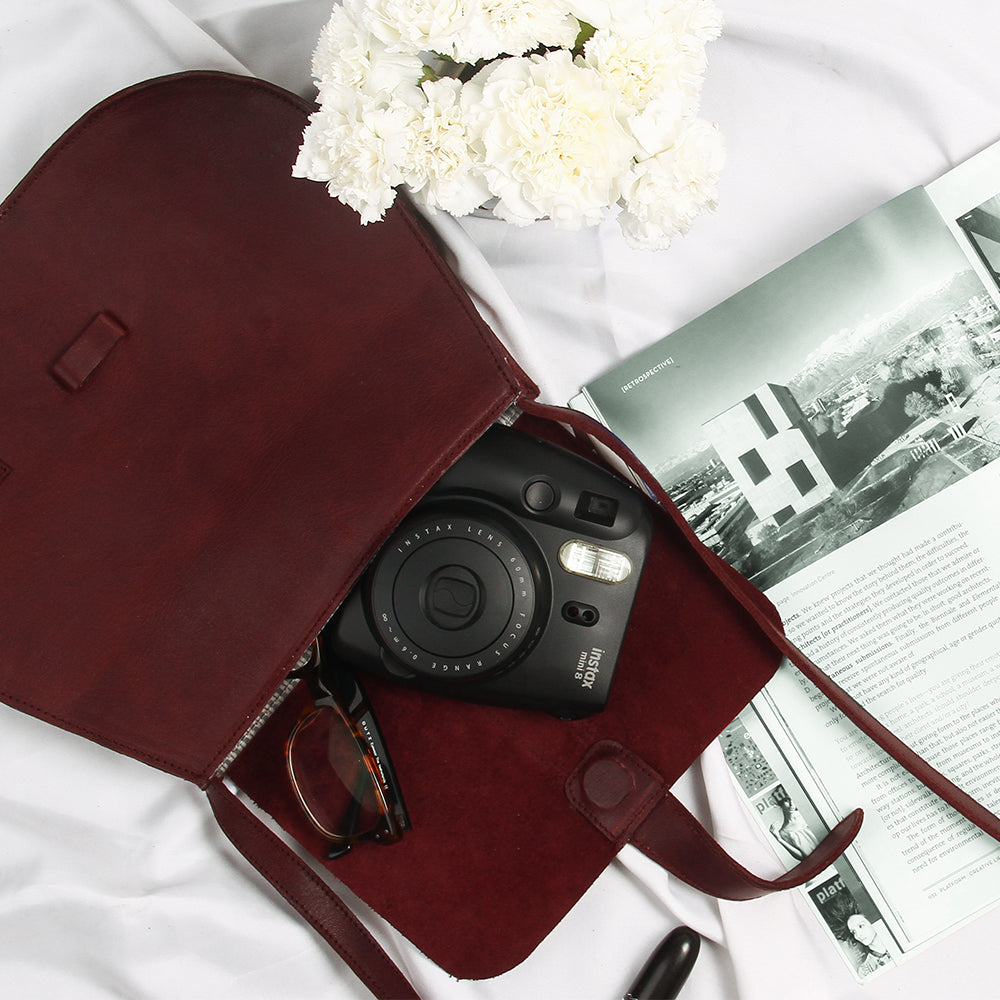 Fundamental Bag II -Burgundy