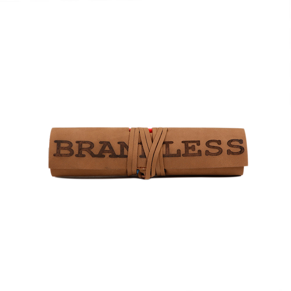 Pencil Roll - Brown