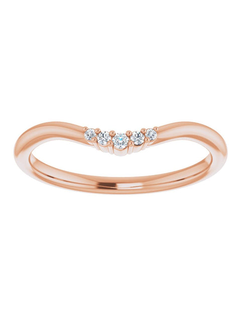 Contour Diamond Band 0.05 ct. tw.