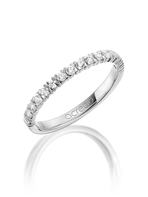 14K Palladium White Gold Diamond Band 1/3ct. tw G/Si1
