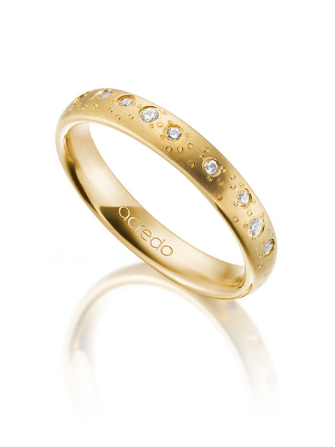 14K Yellow Gold Diamond Band 1/4 ct. tw. G/Si1