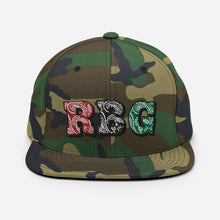 Load image into Gallery viewer, RBG Bandana Print Snapback Crown