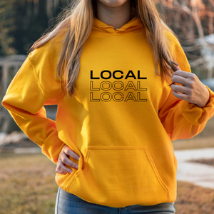 Local | Gold Unisex Hoodie