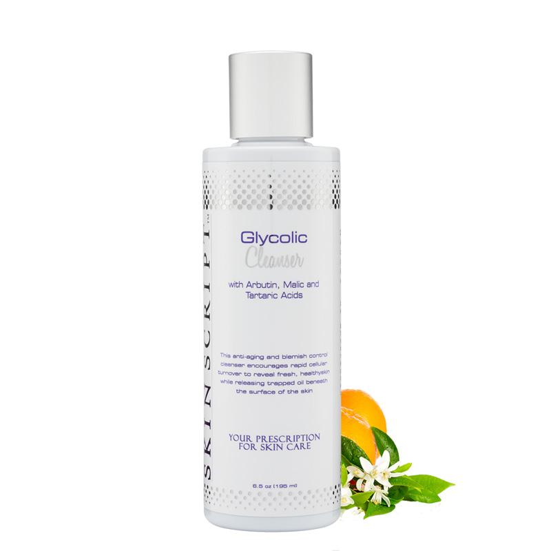 Skin Script Glycolic Cleanser - Raspberry Moon Shop