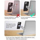 Magnetic Laptop Phone Holder