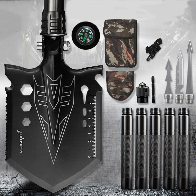 2021 New Military Folding Survival Shovel