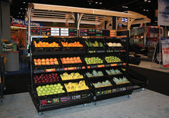 3 shelf farm stand display single sided<p>3SPD-48