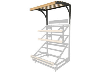 3SPD-48-CANOPY<p>3 shelf farm stand display single canopy