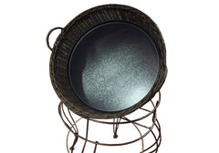 baskets with decorative frame<p>BDF