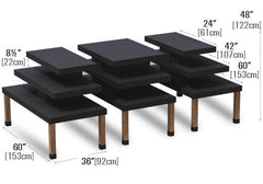 modular steel bakery tables<p>BAK-SPI