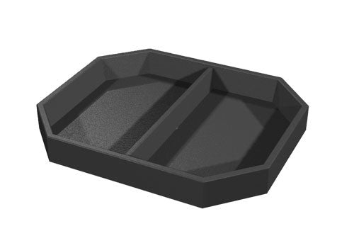 partitioned bin top<p>BL103