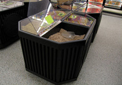 four compartment bin top<p>BL601