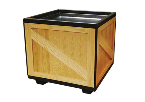square orchard wood bin<p>BLS36WOOD