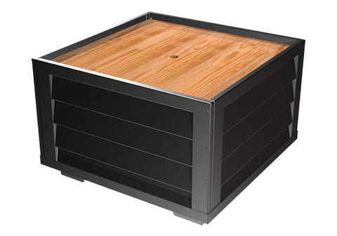 slat sided 5-level square bin<p>BLS48-SS5