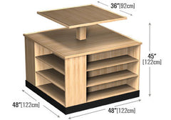 two tier bakery table<p>BR222