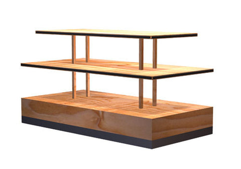 three tier bakery / general merchandise table<p>DC401