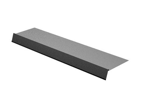 deli shelf cover with angled front sign holder<p>DSC10