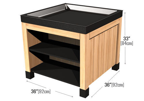 Two Shelves Orchard Bin [DTW410S-36]