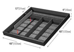 two compartments euro tray<p>EUT103
