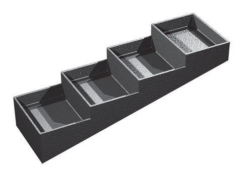 four compartments euro tray<p>EUT105