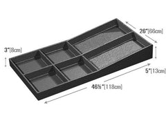 six compartments euro tray<p>EUT107