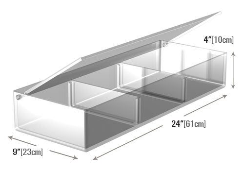 Shallow Tray with Lid [MP24]