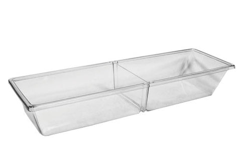 clear pan insert + removable divider<p>MPIH