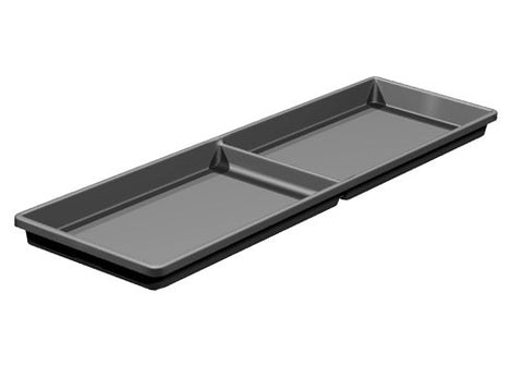MT22<p>two compartment meat tray