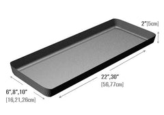 2 inches deep meat tray<p>MT2