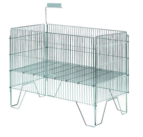 MWB-018<p>chrome or zinc plated wire value bin