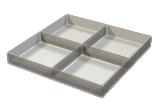 four compartment tray<p>PDT18