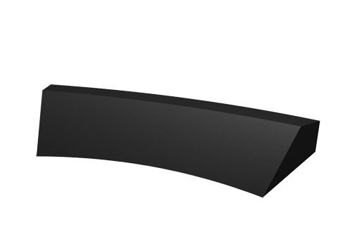5 inches high concave curved shelf insert dummy<p>PR23CNS