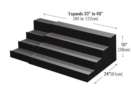Four Step Expandable Riser [PR280X]