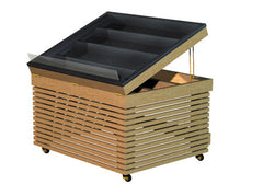euro style table with ice pan<p>PR300