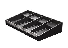PR74S<p>4 compartment shelf organizer