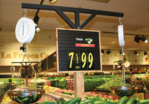 3 Shelf Farm Stand Display Price Sign [PTHW-1618]