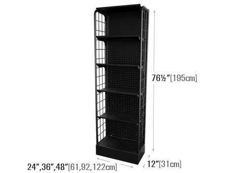 5 Shelf Free Standing End Cap Display [SB]