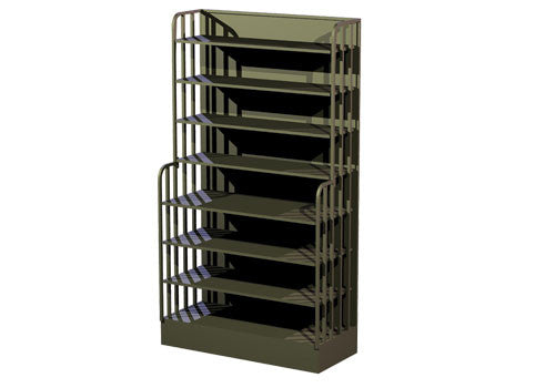 high profile packaged spice rack<p>SP173