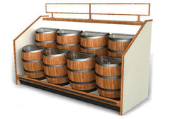 barrels floor unit display fixture<p>SR02