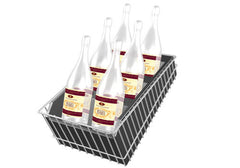 plastic molded wine display rack<p>WD
