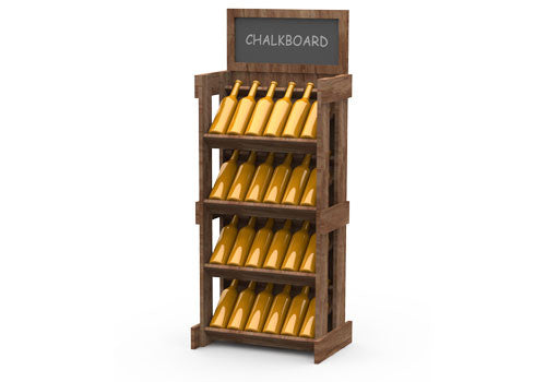 wood wine display rack<p>WD241
