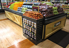 WXP15-S<p>slat sided produce extender with shelves