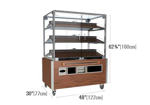 3 Shelf Bakery Display [BR504]