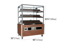 3 shelf bakery display<p>BR504