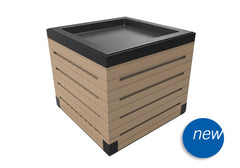 natural wooden field bins<p>DTW414