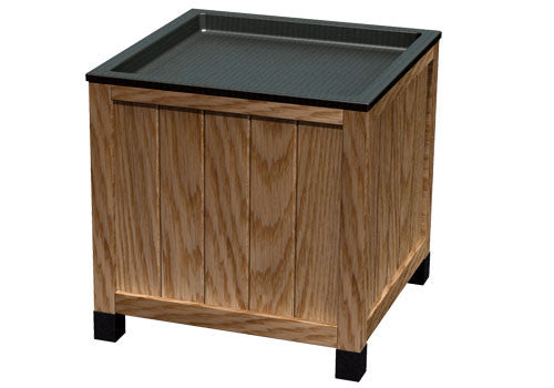 multilevel russian maple wooden orchard bin<p>OB800-363636
