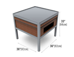 metal orchard table<p>MB-Table